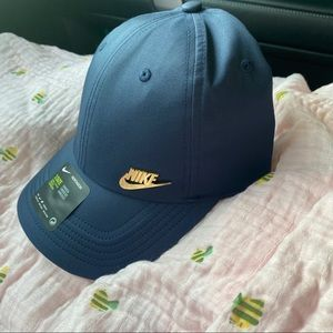 Nike Navy with Gold Details